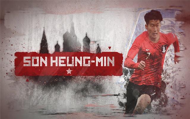 heung-min son Themes & New Tab