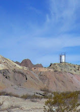 Photo: The Study Butte Mine was operated as late as the 1970's