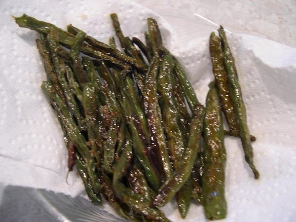 Roasted Green Beans Super Easy! Recipe