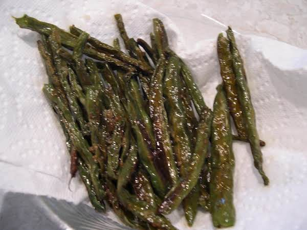 Roasted Green Beans Super Easy!