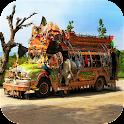 Real Peshawari Coach Bus Drive icon