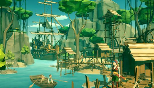 Sea of Bandits: Pirates conquer the caribbean MOD (No Ads) 4