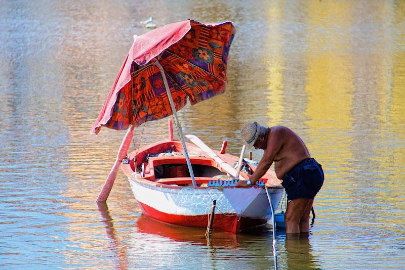 L'uomo e il lago di Bnick
