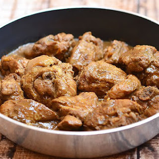 Chicken Adobo with Liver Spread