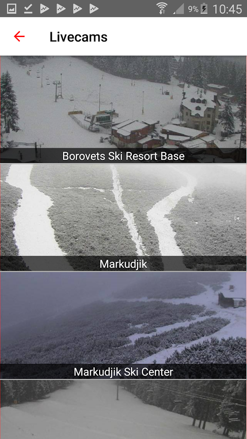 iSKI Bulgaria - Ski, Snow, Resort info, Tracker- screenshot