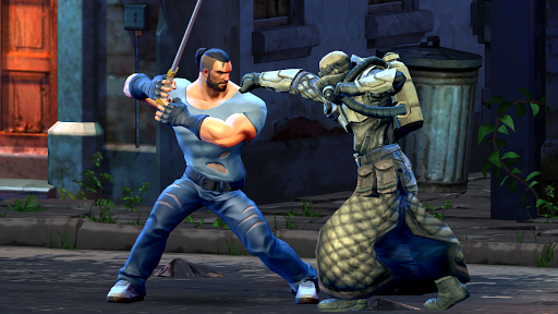 Street Warrior - Jeux de Samurai qui se battent  captures d'écran 1