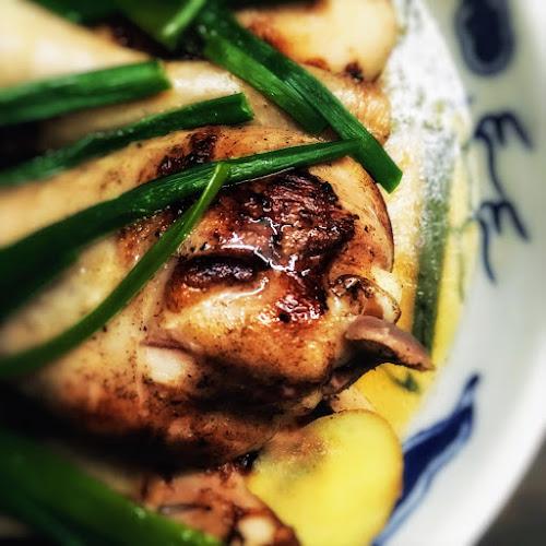 雞腿, 雞髀,  蒸焗, 蒸, 焗, 鹽醃, 煎焗, Grandma, Chinese, recipe, Steamed, Brined, Chicken, salt marinated