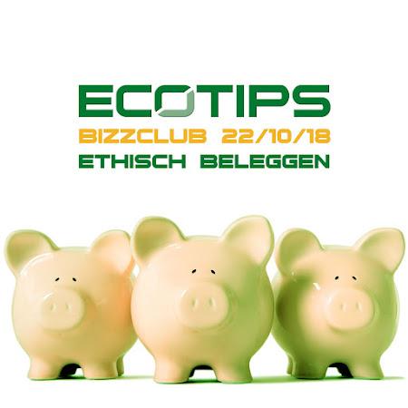 ecoTips BIZZCLUB over ethisch beleggen (is voor iedereen) - 22/10