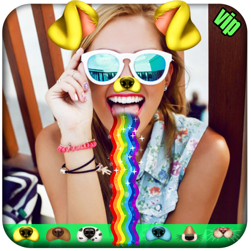 Swap Dog Four Face - Collage Sticker Photo Editor (app)