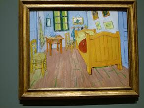 "Photo: I got one photo of a Van Gogh before I heard the guard yelling ""no photos"""