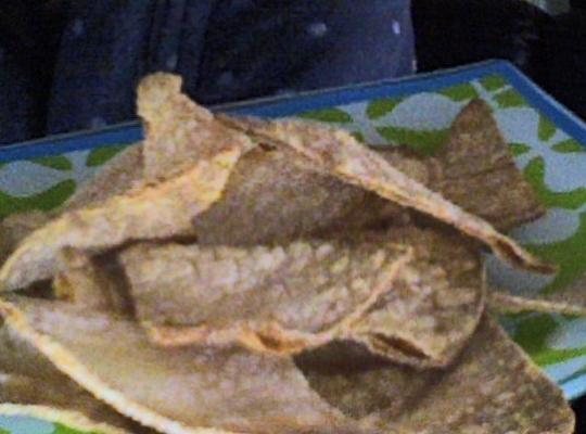 Oven-baked Corn Tortilla Chips Recipe
