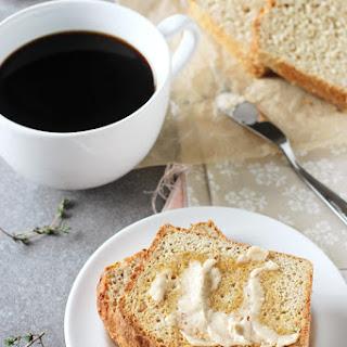 Lemon Thyme English Muffin Bread