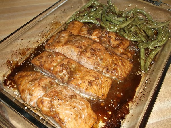 Leftover marinade may be used as a sauce ONLY when heated to boiling (to...