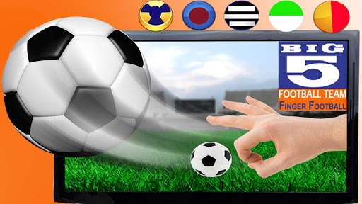 5 big Finger Soccer