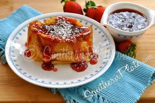 "Overnight Stuffed French Toast ""I'm going to be bringing you a recipe..."