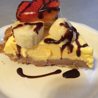 Ice Cream Banana Split Pie