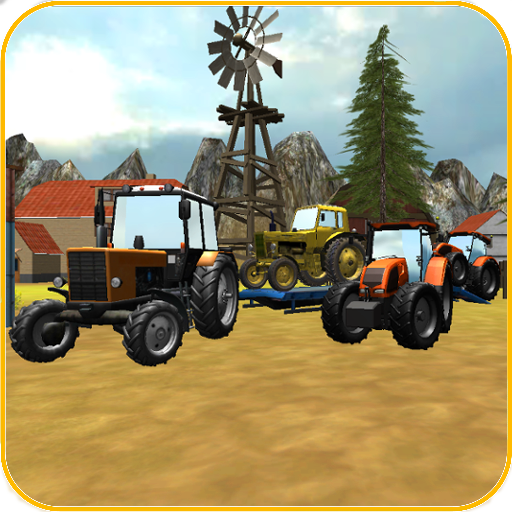 Tractor Transporter 3D 2 模擬 LOGO-玩APPs