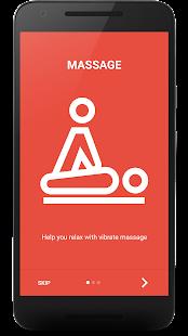 Vibrate App - náhled
