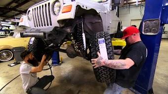 Jacked-Up Jeep