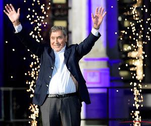 """Eddy Merckx vol lof over deze renner: """"Al vaak gehoord dat een renner de nieuwe 'Merckx' kan zijn, maar ik denk dat we hem nu ook echt gevonden hebben"""""""