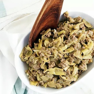 Smothered Beef & Artichokes Recipe