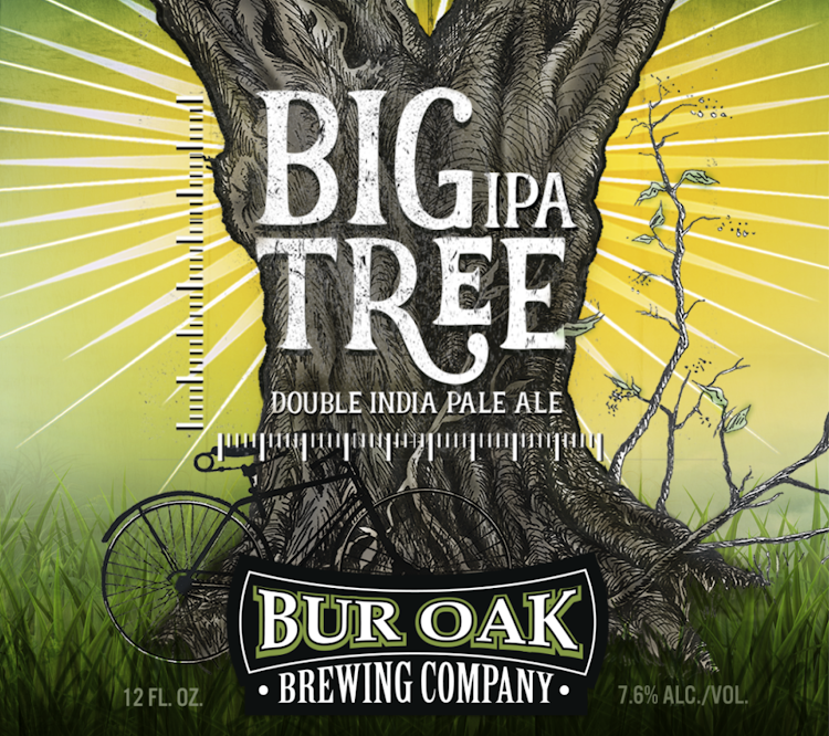Logo of Bur Oak Big Tree DIPA