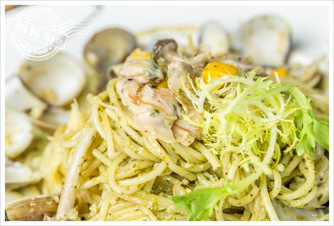 菲.Ra Ra義式餐酒館西西里亞青醬蛤蜊麵3