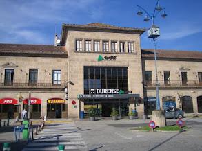 Photo: Bahnhof von Ourense (Spanien, Galizien)