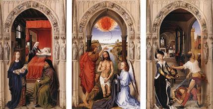 Photo: St John the Baptist altarpiece, c. 1454