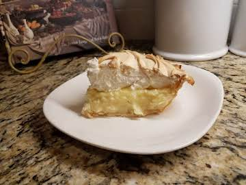 Double Flavor Coconut Cream Pie