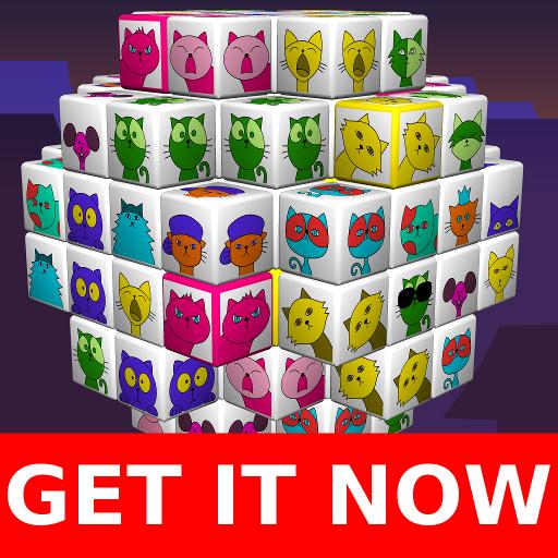 😾 Angry Cats Mahjong 😾