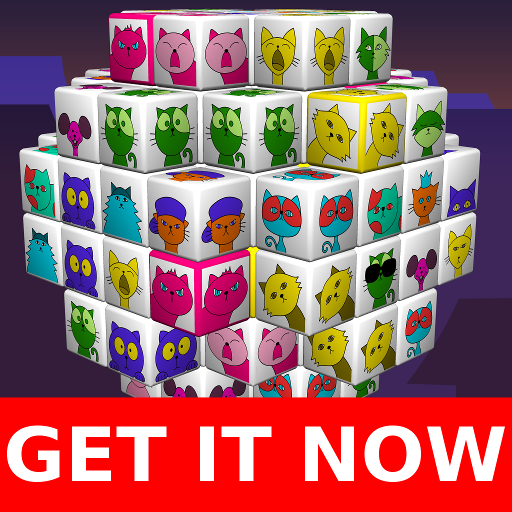 Angry Cats Mahjong 棋類遊戲 App LOGO-APP開箱王