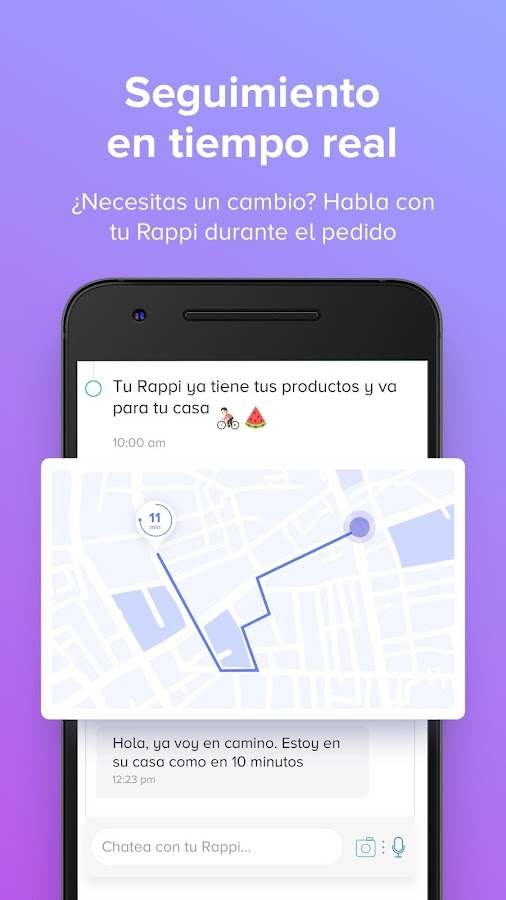 Rappi- screenshot