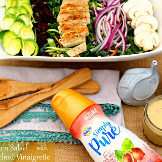 Grilled Chicken Salad with Creamy Hazelnut Vinaigrette
