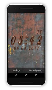 SS Clock Live Wallpaper - náhled
