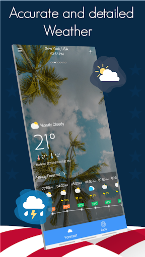 Weather today - Live Weather Forecast Apps 2020 13.0 Screenshots 1