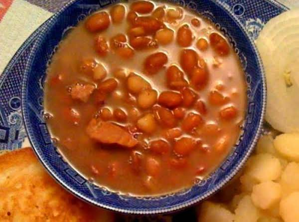 Southern Ham And Beans