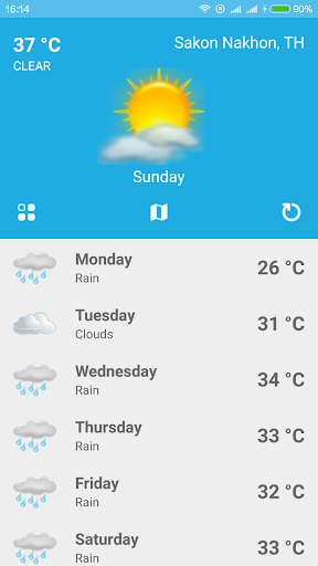 Weather Forecast Radar