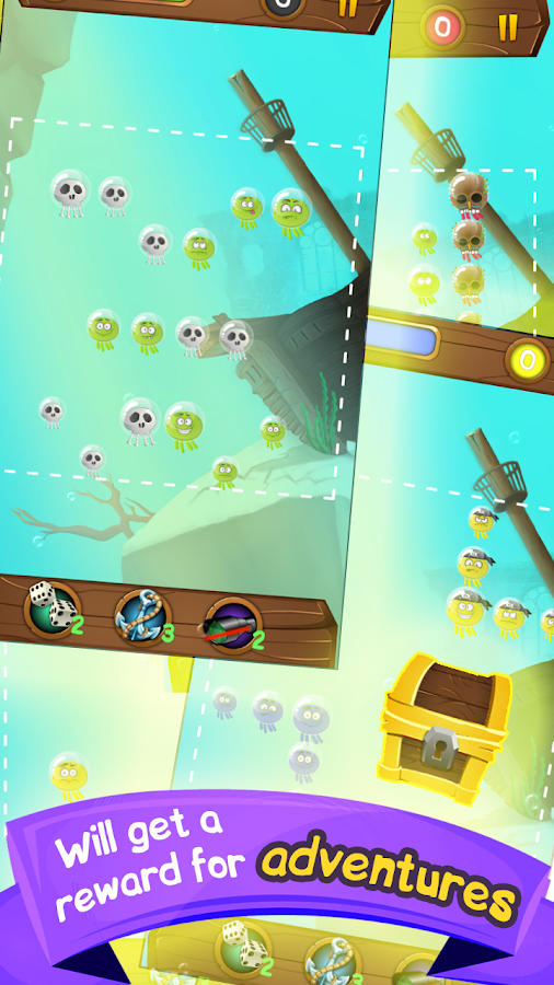 Octopus sea battle - action- screenshot