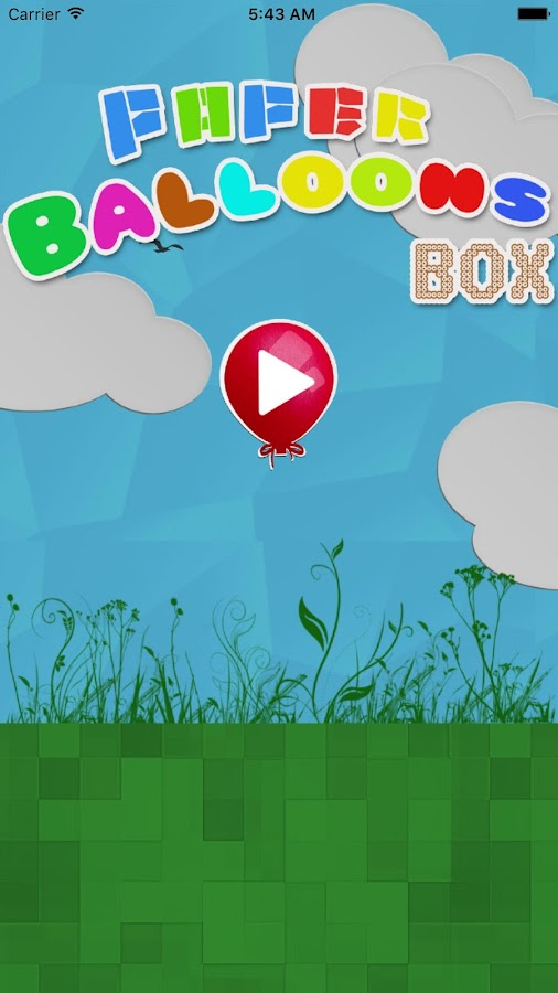 PAPER BALLOONS BOX- screenshot