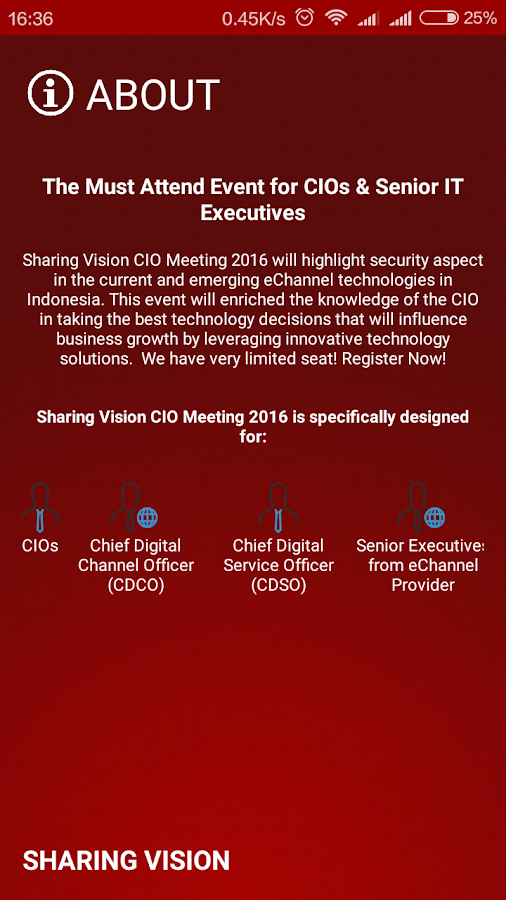 SV CIO Meeting 2016- screenshot