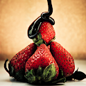 strawberries live wallpaper icon