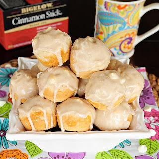 White Chocolate Cinnamon Tea Muffins.