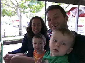 Photo: Family Train Ride