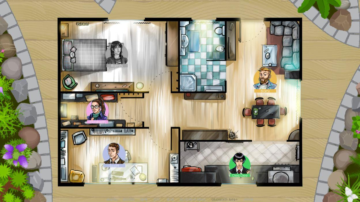 The Deadline - Visual Novel (Demo)- screenshot