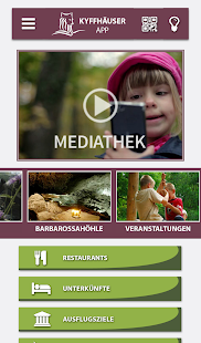 Kyffhäuser App- screenshot thumbnail