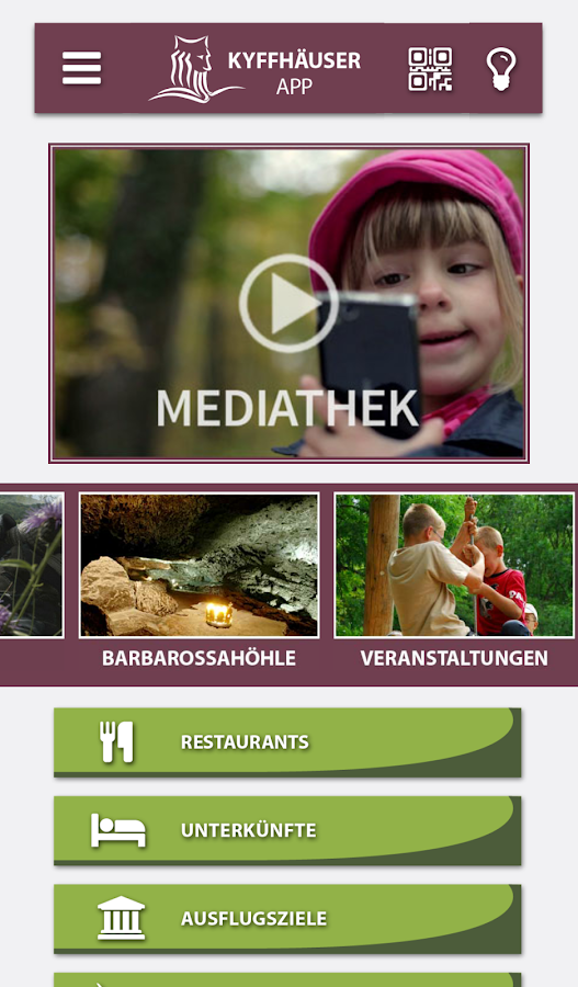 Kyffhäuser App- screenshot