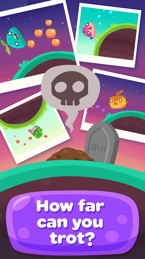 Glob Trotters - Endless Runner- screenshot