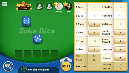 ZokaDice - Play Dices with Buddies 1.4.56 screenshots 7