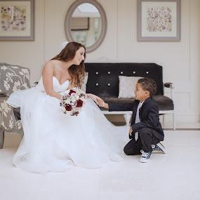 Little Prince :)  by Kaspars Sarovarcenko - Wedding Bride ( wedding photographer limerick )